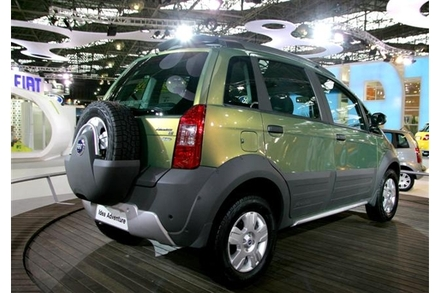 6.	Naujas Fiat Idea Adventure. Reuters/Scanpix