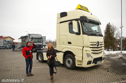 Mercedes-Benz Actros Road Show